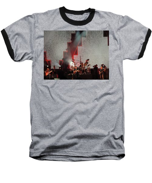 Baseball T-Shirt featuring the photograph Dmb Members by Aaron Martens
