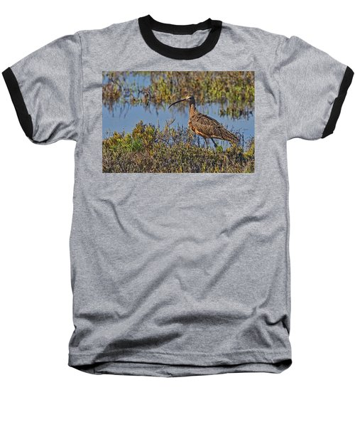 Baseball T-Shirt featuring the photograph Do You Like My Stylish Beak by Gary Holmes