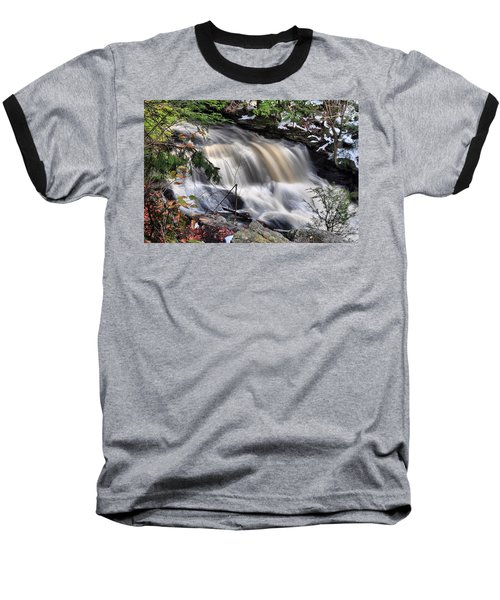Doane's Lower Falls In Central Mass. Baseball T-Shirt