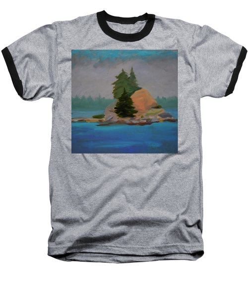 Baseball T-Shirt featuring the painting Pork Of Junk by Francine Frank