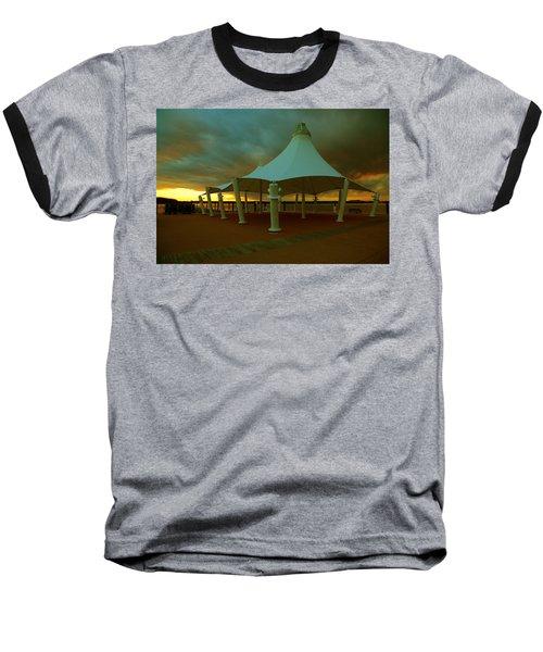 Dock At National Harbor Baseball T-Shirt