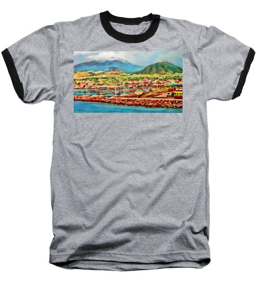 Docked In St. Kitts Baseball T-Shirt