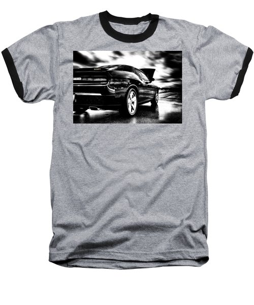 Dodge Challenger Srt In Hdr Baseball T-Shirt