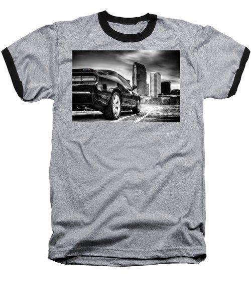 Dodge Challenger Tampa Skyline  Baseball T-Shirt