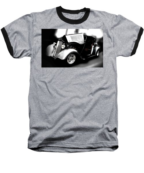 Dodge Power Baseball T-Shirt by Aaron Berg
