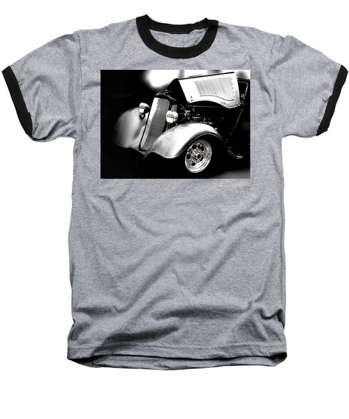 Hot Rod Baseball T-Shirt featuring the photograph Dodge This by Aaron Berg