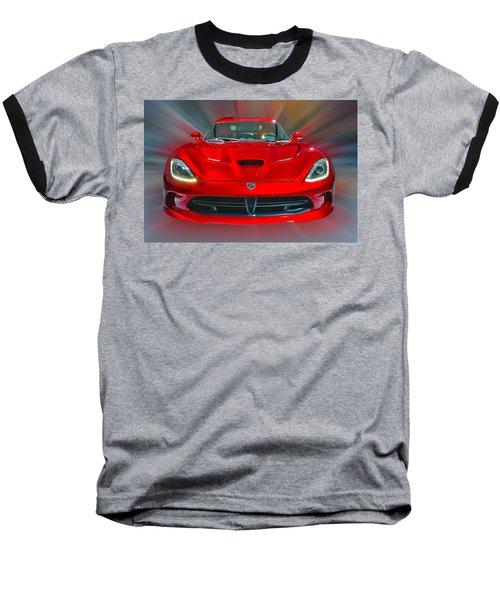 Dodge Viper Srt  2013 Baseball T-Shirt