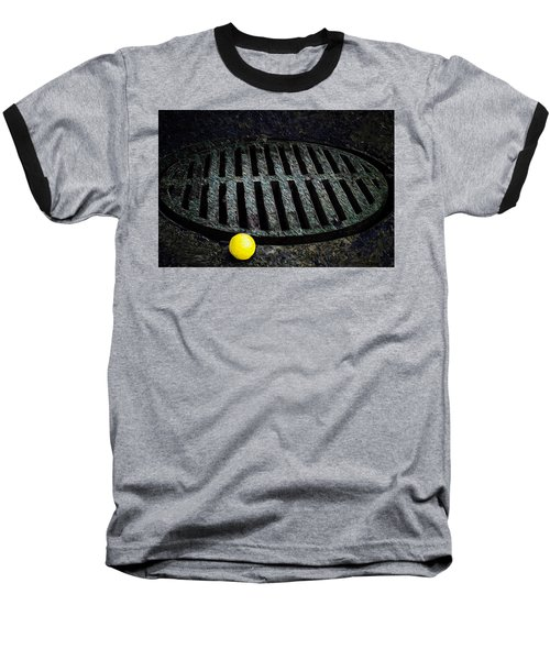 Dogs Eye View Baseball T-Shirt
