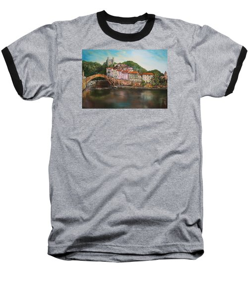 Dolceacqua Italy Baseball T-Shirt by Jean Walker