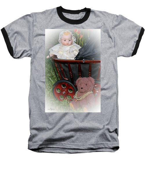 Doll And Teddy Baseball T-Shirt