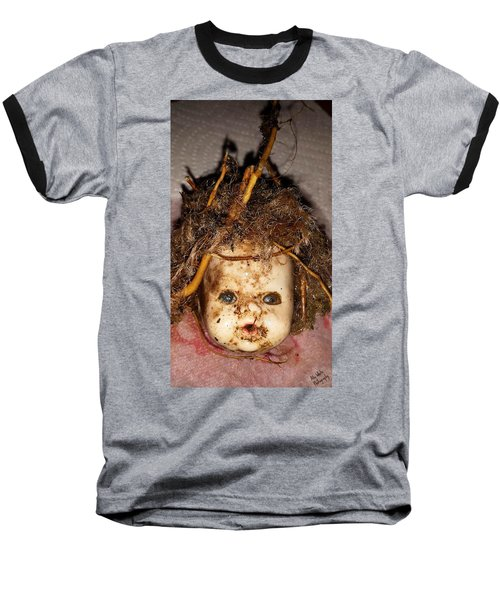 Doll Head Baseball T-Shirt