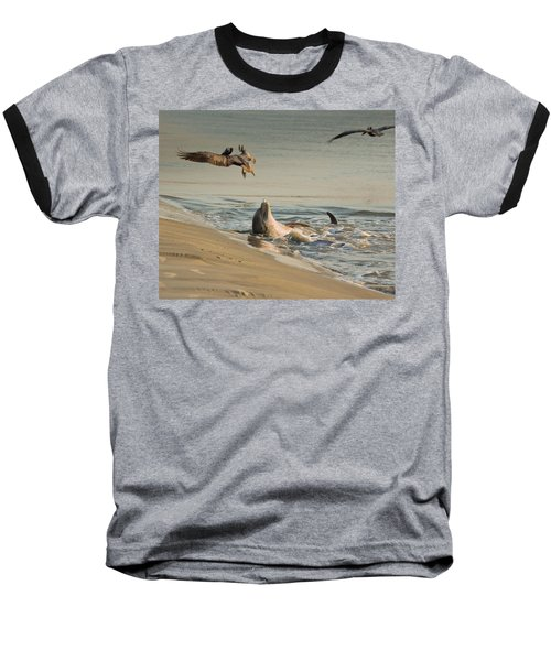 Dolphin Joy Baseball T-Shirt