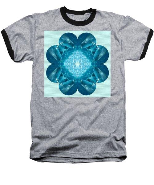 Dolphin Kaleidoscope Baseball T-Shirt