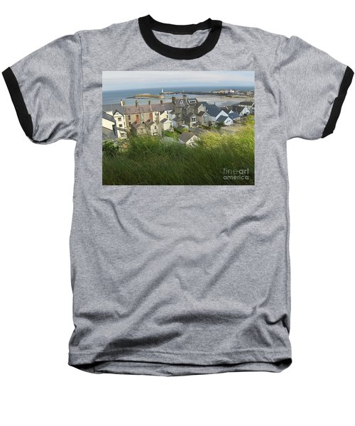 Donaghadee Northern Ireland View From The Moat Baseball T-Shirt by Brenda Brown