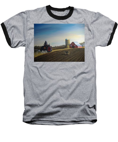 Done For The Day Baseball T-Shirt by Norm Starks