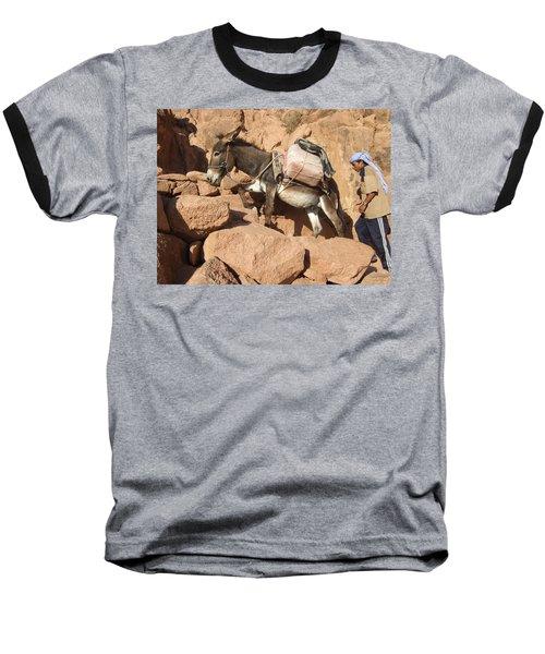 Donkey Of Mt. Sinai Baseball T-Shirt