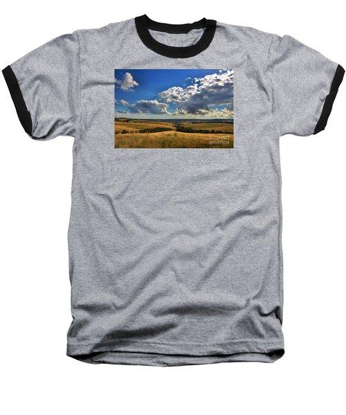 Donny Brook Hills Baseball T-Shirt by Joy Watson