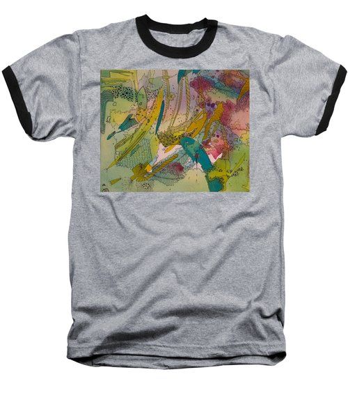 Doodles With Abstraction Baseball T-Shirt