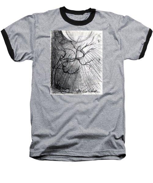 Doom Moon  Baseball T-Shirt
