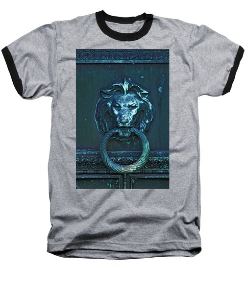Baseball T-Shirt featuring the photograph Door Knocker by Rowana Ray