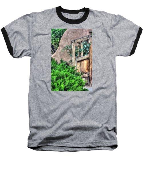 Door, Santuario De Chimayo Baseball T-Shirt