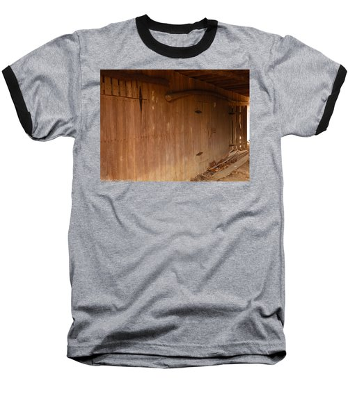 Baseball T-Shirt featuring the photograph Doors To The Past by Nick Kirby