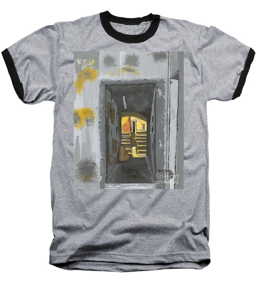 Doorway In Cinque Terra Baseball T-Shirt