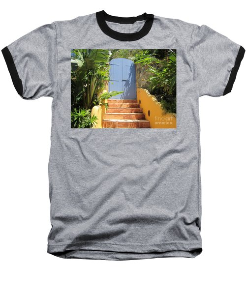 Baseball T-Shirt featuring the photograph Doorway To Paradise by Fiona Kennard
