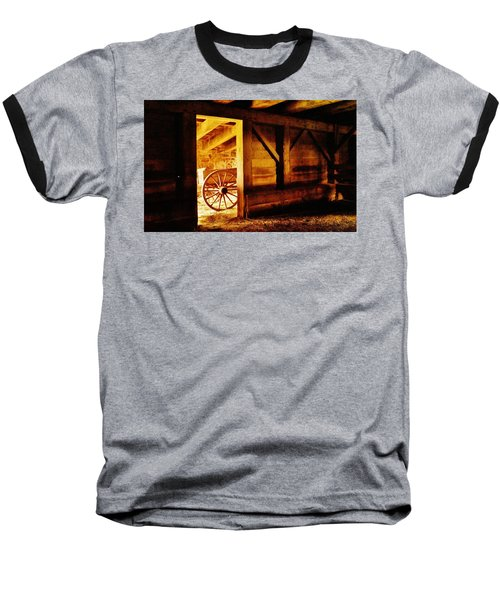 Doorway To The Past Baseball T-Shirt by Daniel Thompson