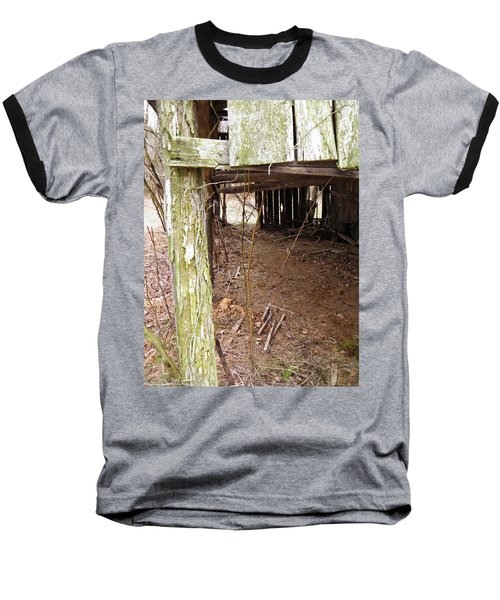 Baseball T-Shirt featuring the photograph Doorway To The Past by Nick Kirby