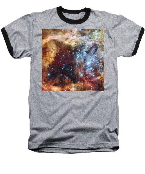 Doradus Nebula Baseball T-Shirt