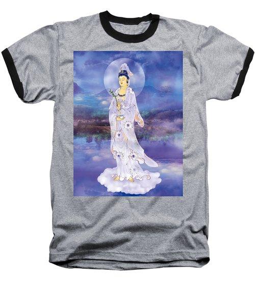 Doro Guanyin Baseball T-Shirt by Lanjee Chee