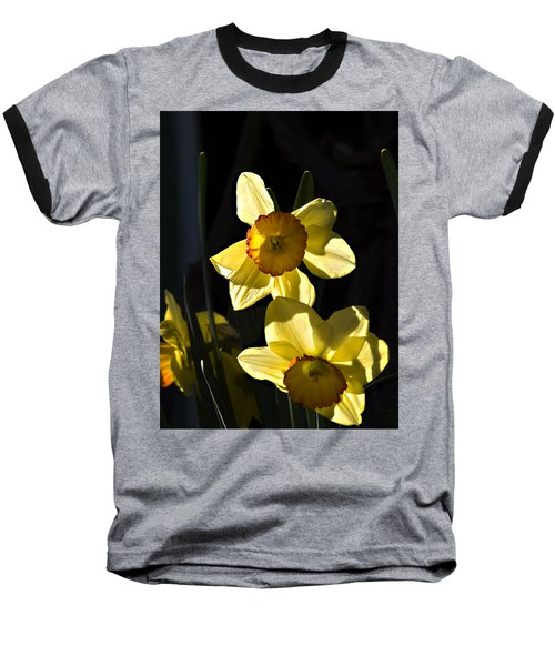 Dos Daffs Baseball T-Shirt by Joe Schofield