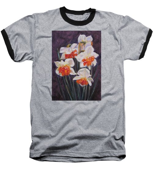 Double Daffodil Replete Baseball T-Shirt