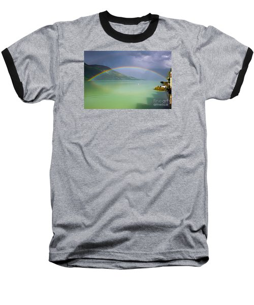 Double Rainbow Baseball T-Shirt