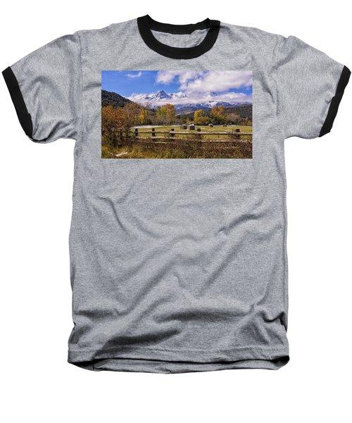 Double Rl Ranch Baseball T-Shirt by Priscilla Burgers