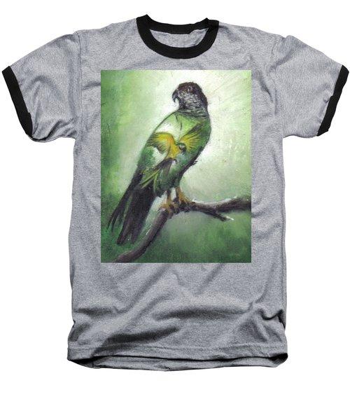 Double Vision Baseball T-Shirt by Catherine Swerediuk