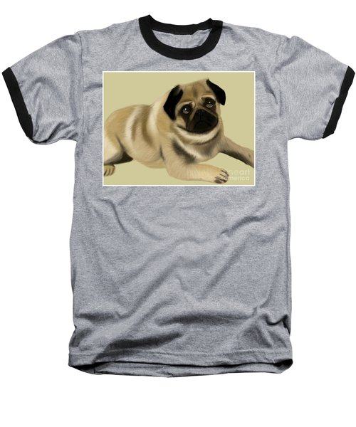 Doug The Pug Baseball T-Shirt