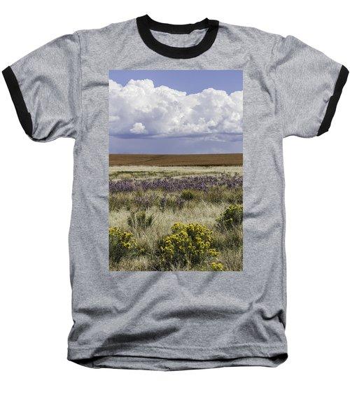 Dove Creek Fall Flowers Baseball T-Shirt