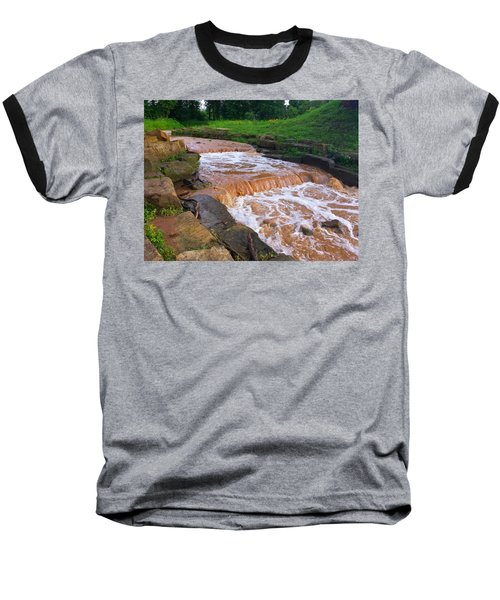 Baseball T-Shirt featuring the photograph Down A Creek by Chris Tarpening