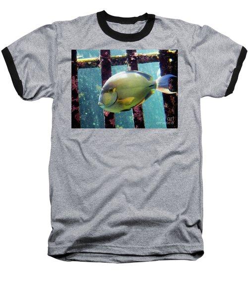 Down At The Shipwreck Baseball T-Shirt