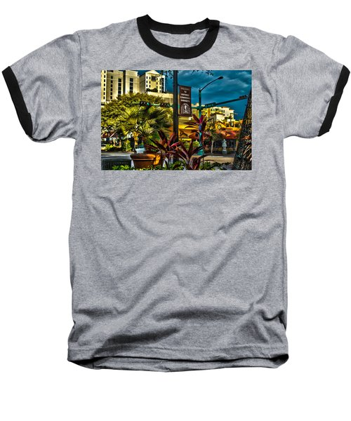 Down On Main Street Baseball T-Shirt