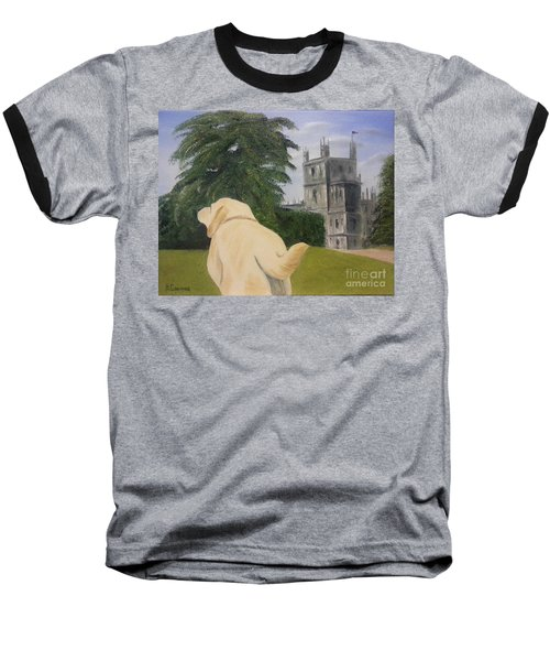 Downton Abbey Baseball T-Shirt