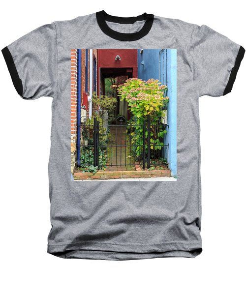 Downtown Garden Path Baseball T-Shirt