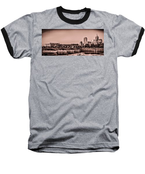 Downtown Indianapolis Baseball T-Shirt