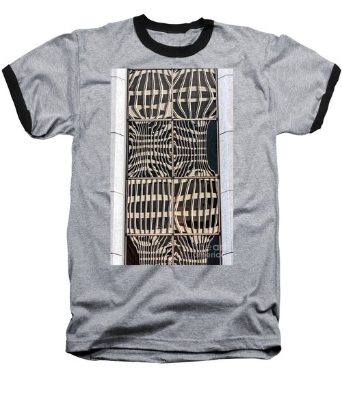 Downtown Reflection Baseball T-Shirt by Kate Brown