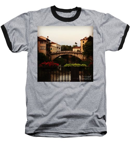 Downtown Vicenza Baseball T-Shirt
