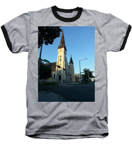 Downtown Worship Baseball T-Shirt