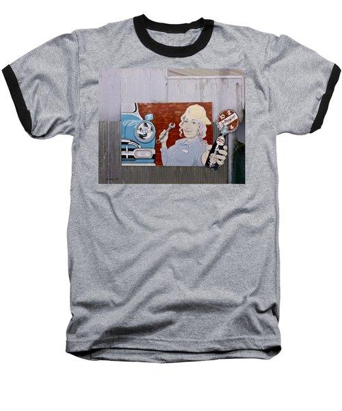 Dr Pepper Sign From Amtrak Baseball T-Shirt