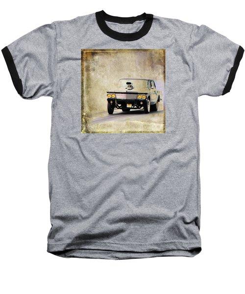 Drag Time Baseball T-Shirt by Steve McKinzie